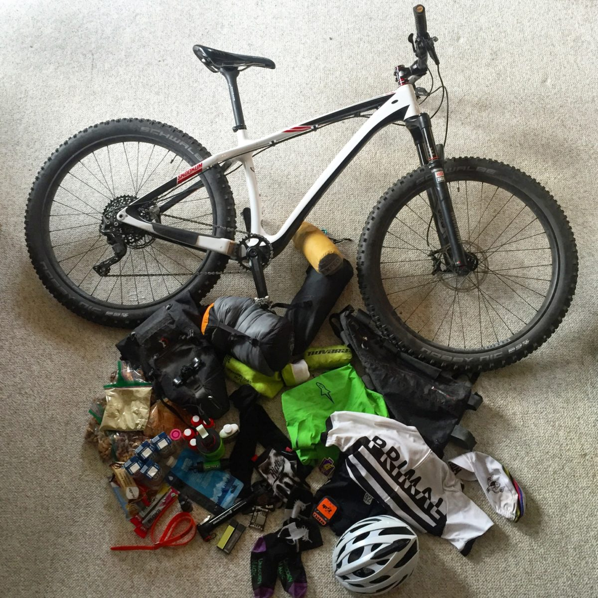 How to Prepare for a Bikepacking Race