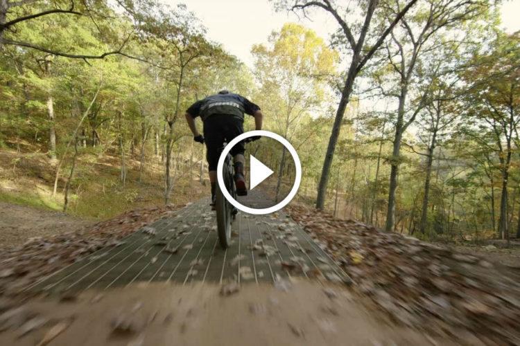 Watch The Backcountry Of Northwest Arkansas Mountain Biking In