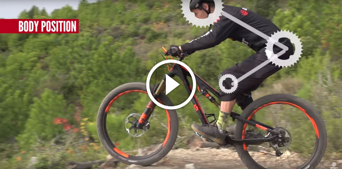 Watch: 5 Common Mountain Biking Body Position Mistakes