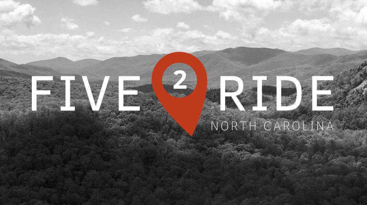 five_to_ride_north_carolina