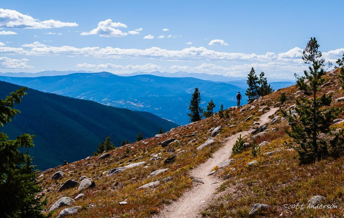 Monarch Crest Trail, Salida, Colorado. Photo: Scott Anderson