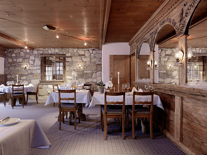 The gorgeous dining room. Photo: Hotel Dieschen