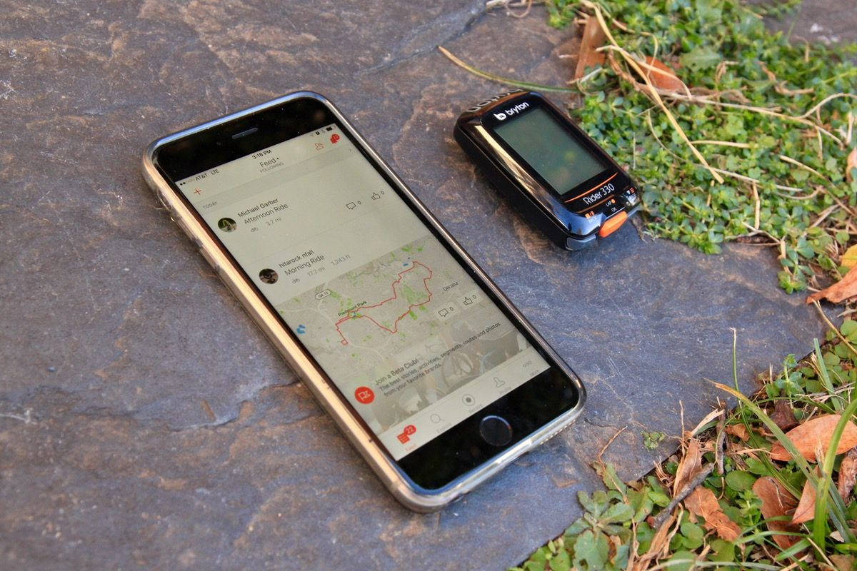 How Strava Is Using GPS Map Data To Help Mountain Bikers - Gps map data