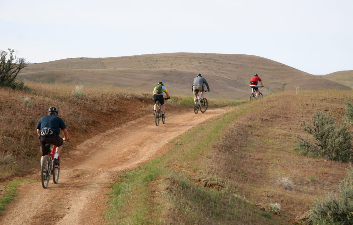 Don't let trailing the pack detract from your enjoyment of the ride.