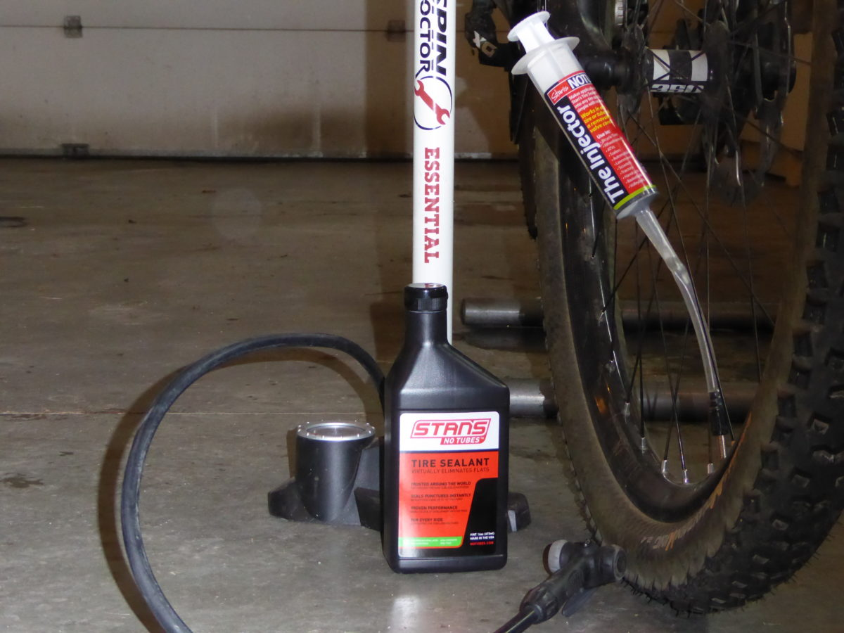 Time to get rid of those wads of dried sealant and add fresh stuff, and new rim tape helps fix those slow leaks.