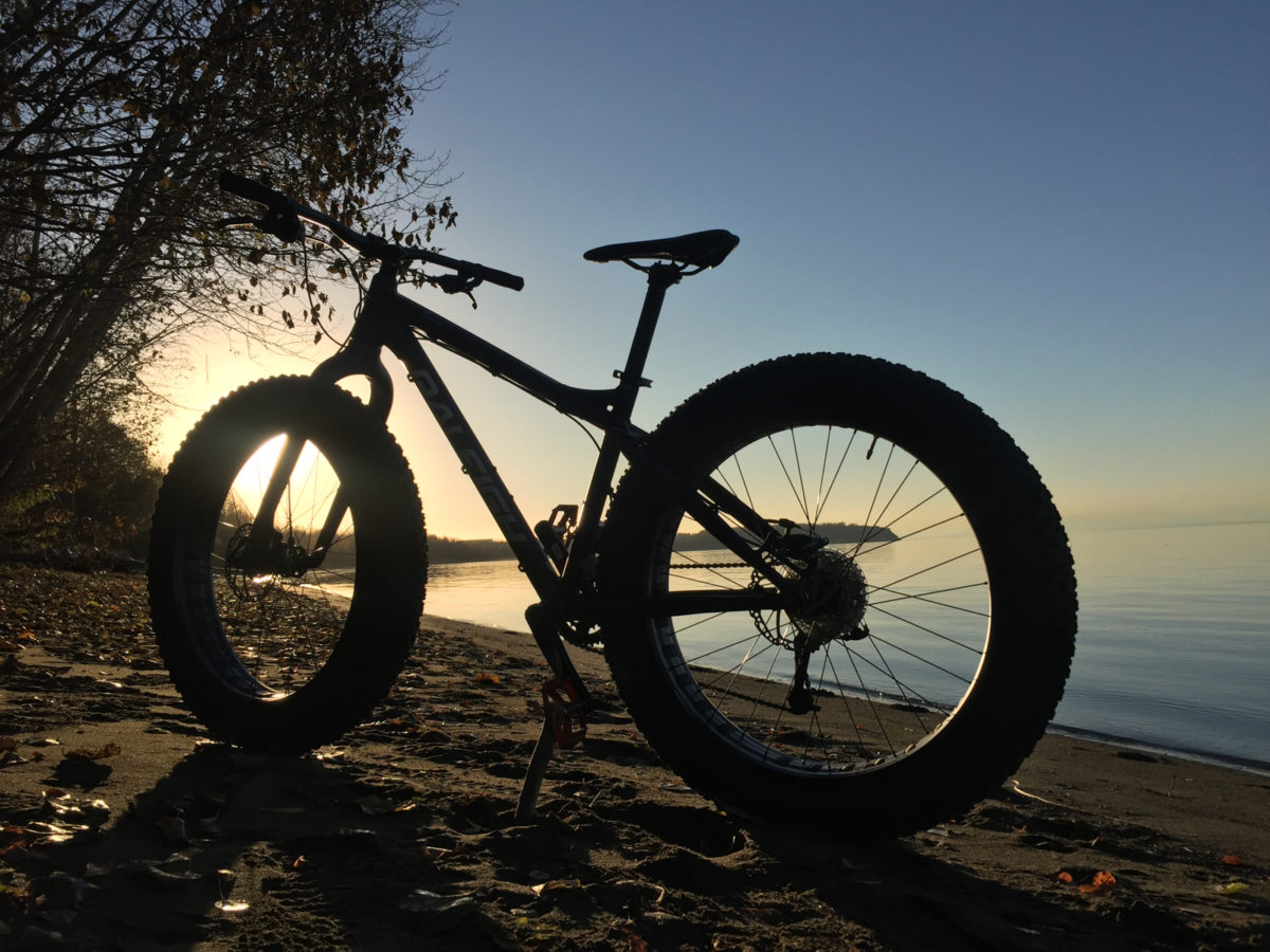 The Raleigh isn't just a partier, it has a soft side that enjoys long rides on the beach too
