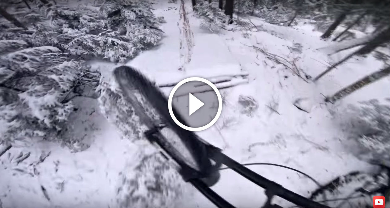 POV Video: How To Ride in the Snow with Nico Vink