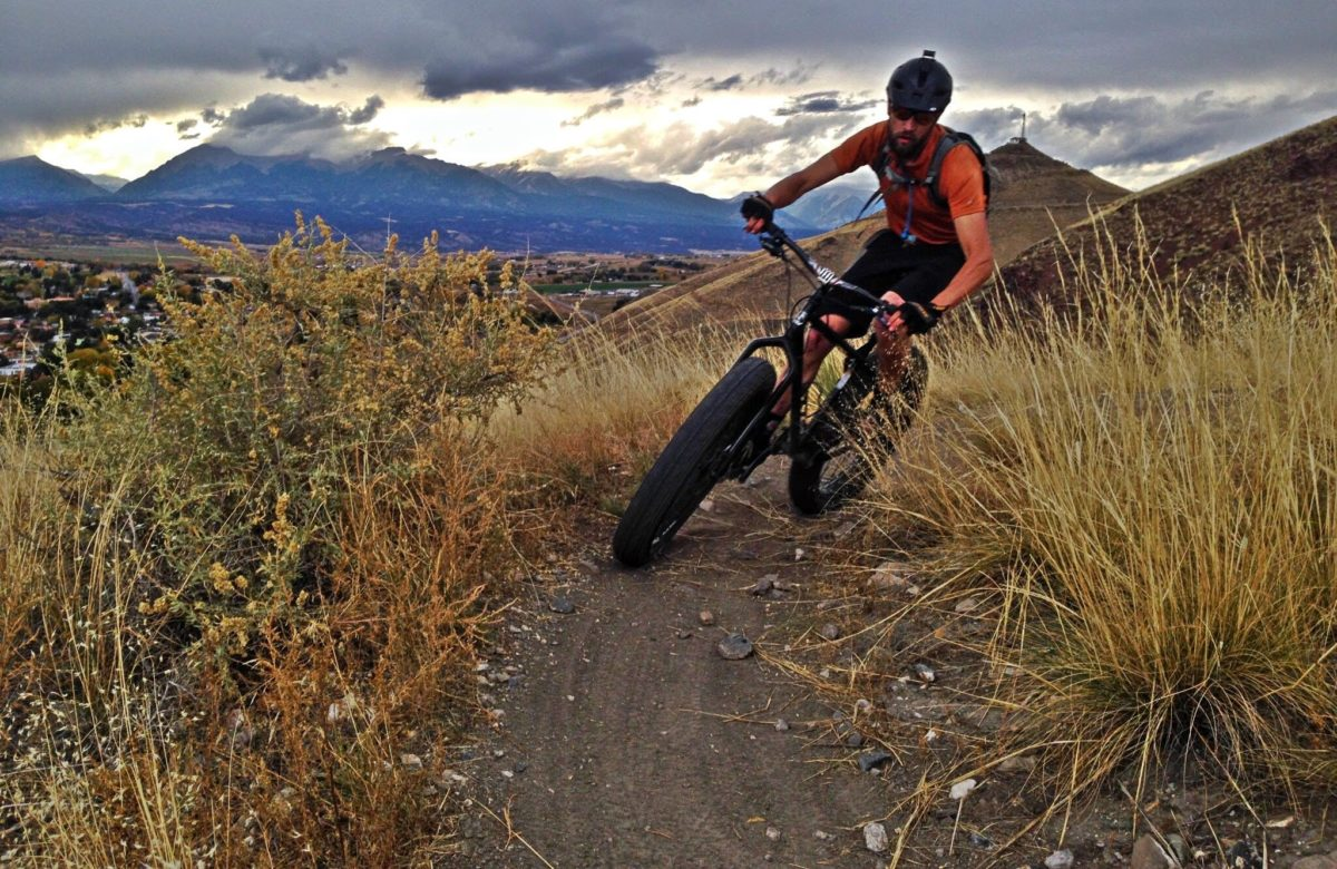 Looking through and past the switchback in Salida, Colorado. Photo: Greg Heil
