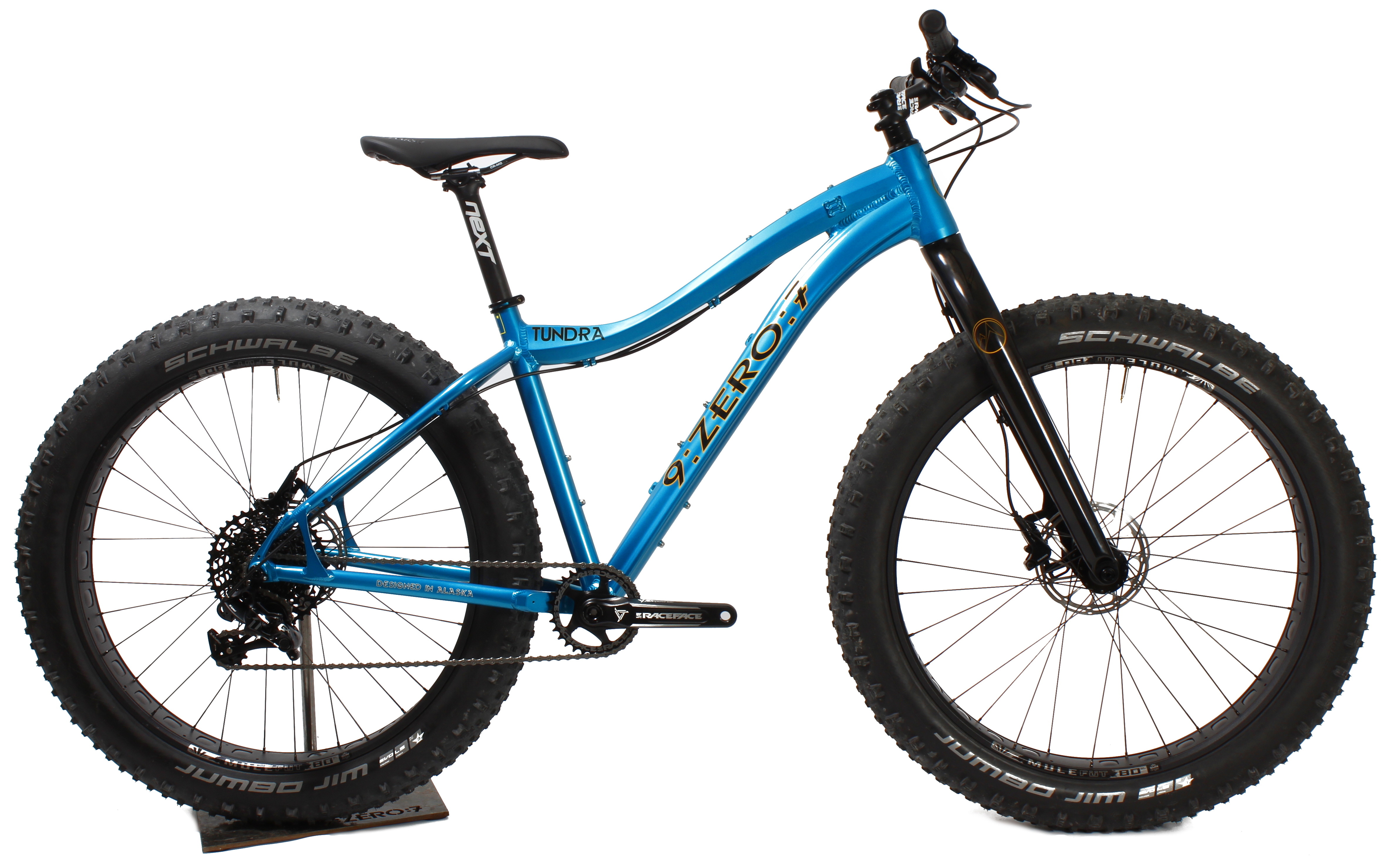 9 Zero 7 Launches New Tundra Fat Bike And Squall Kids Fat Bike