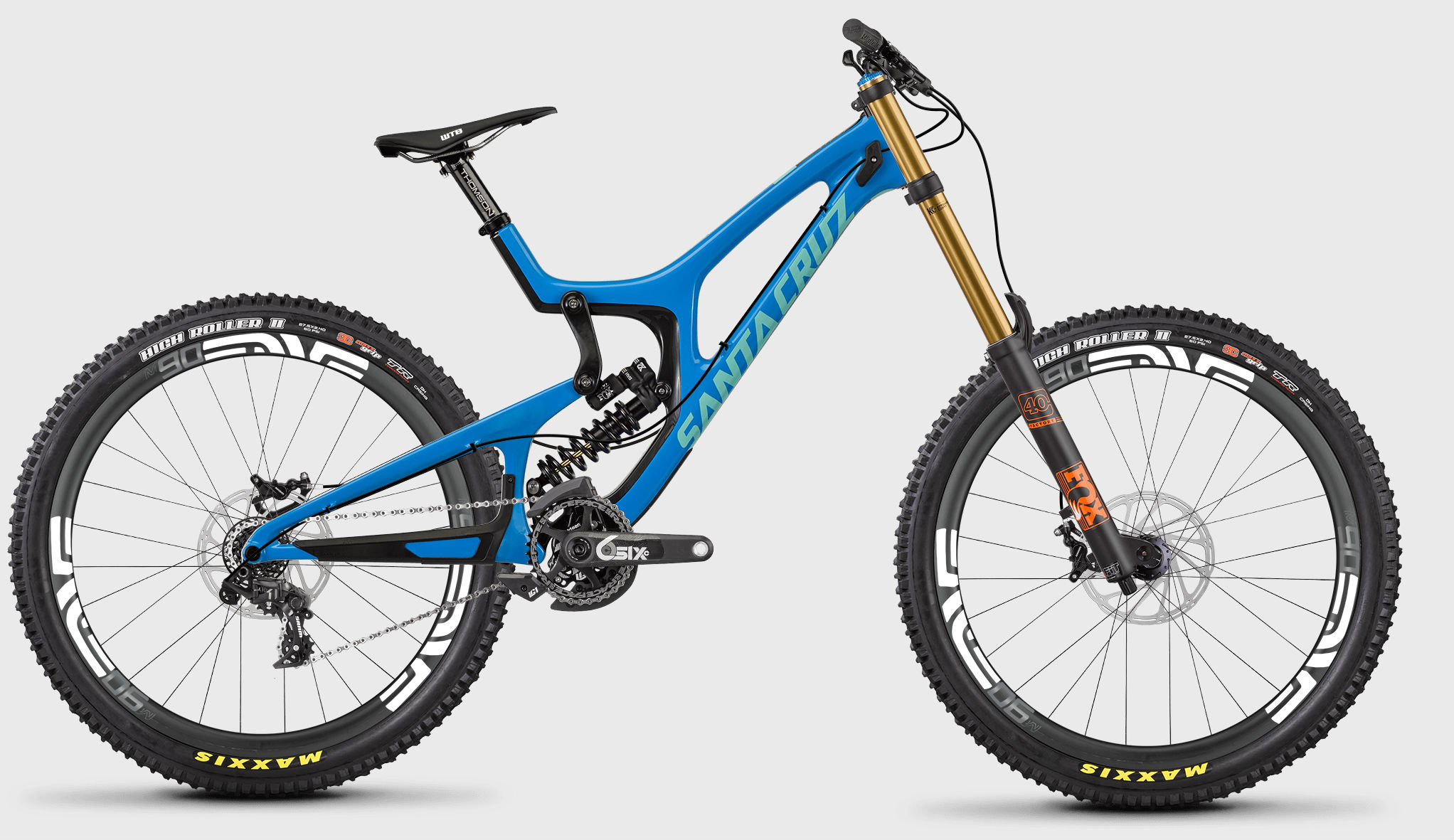 be2ff26a638 Santa Cruz's V10 is one of the winningest World Cup downhill bikes of all  time, and the top-end build comes with a price tag to match!