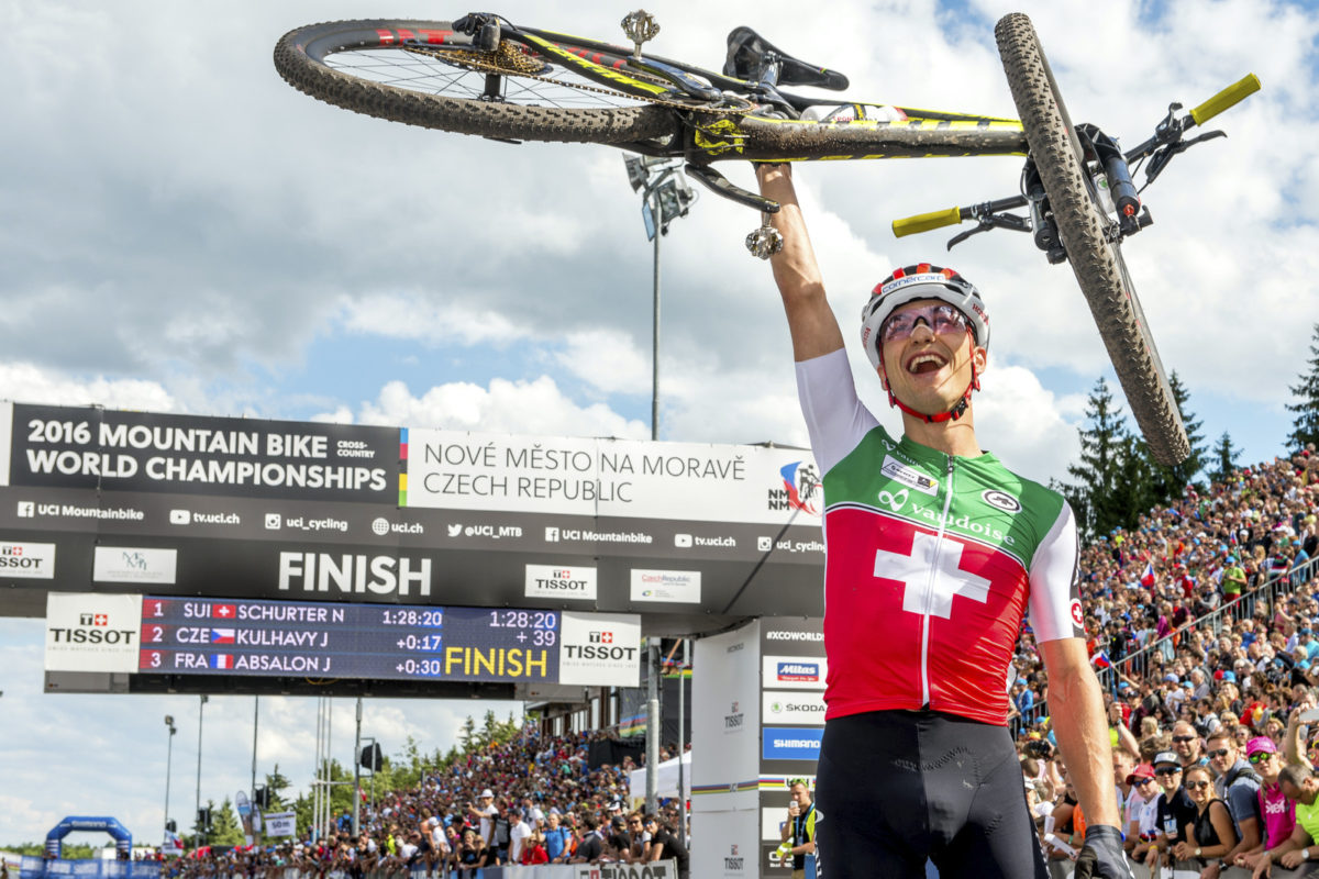 Nino Schurter at the 2016 World Championships (photo: Armin M. Küstenbrück)
