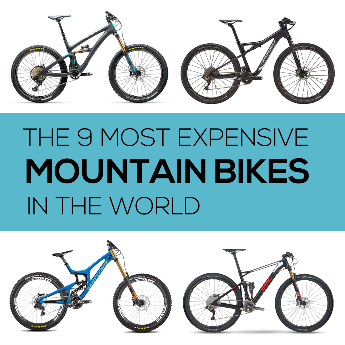 Most Expensive Mountain Bikes