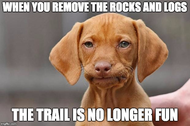 sad puppy mtb meme