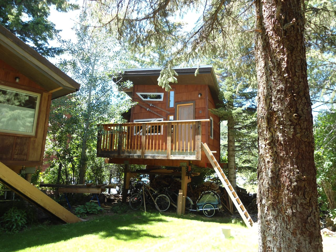 20 rad airbnbs for your next mtb vacation page 2 of 4 for Single tree treehouse ideas