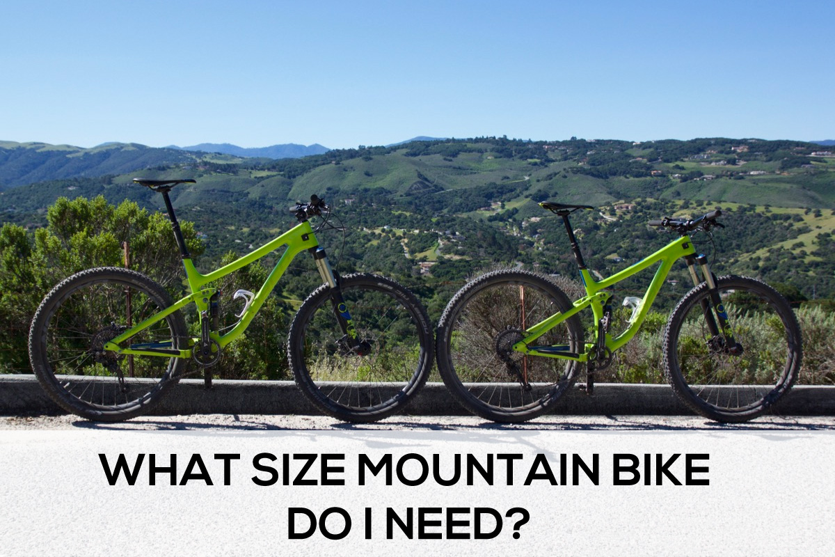 What size mountain bike do I need