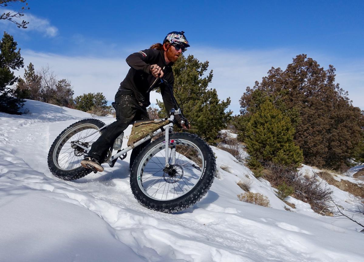Trail: Little Rainbow, Salida, Colorado. Rider: Scott Link. Photo: Greg Heil