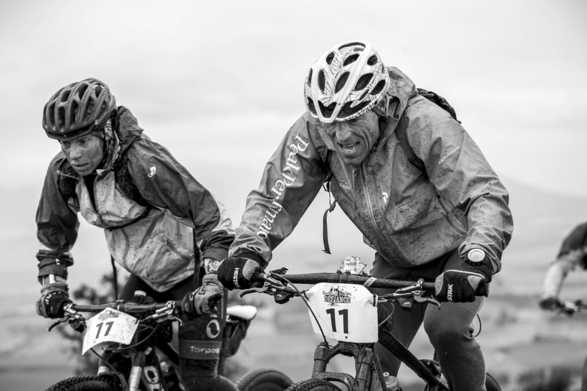Marcel Hagener and Simone Maier, Red Bull Defiance Adventure Race, New Zealand. Photo: Graeme Murray/Red Bull Content Pool