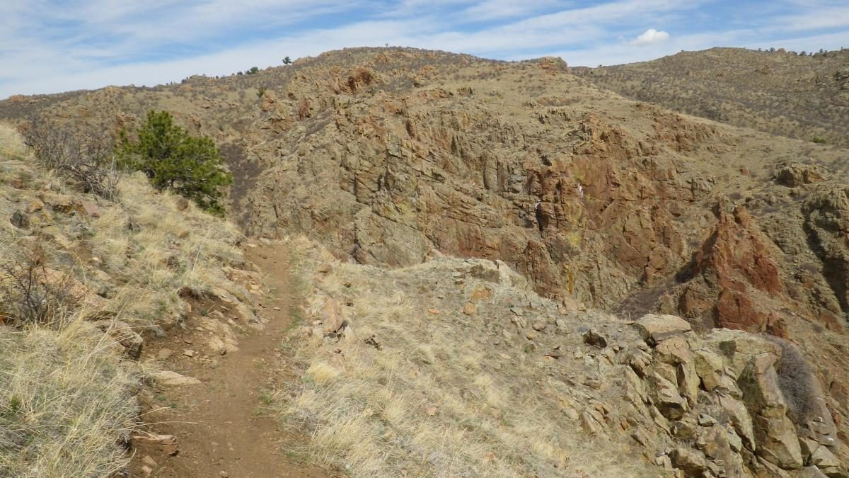 Some of Curt Gowdy's trails are not for the faint of heart (photo: RoadWarrior)