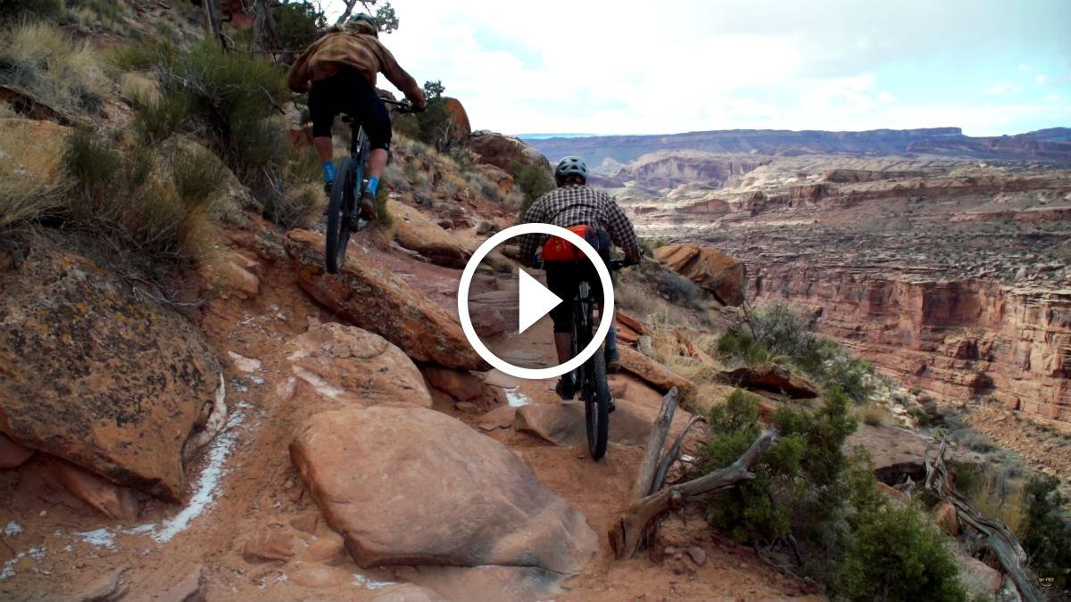 watch off season on the porcupine rim trail