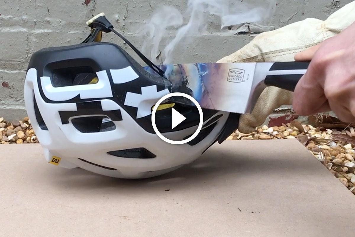 Watch Hot Knife Mountain Bike Parts Test Singletracks