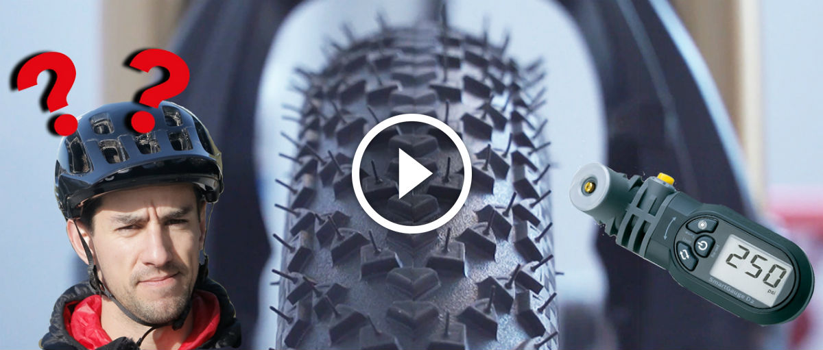 Watch: Mountain Bike Tire Pressures – Everything You Need To Know