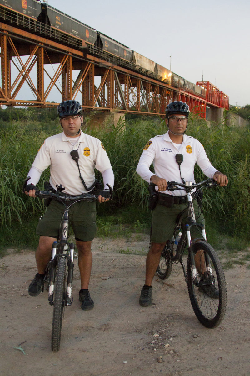 CBP, Border Patrol agents from the Laredo Bike Patrol unit on patrol in South Texas. Photo: Donna Burton, US Government Work