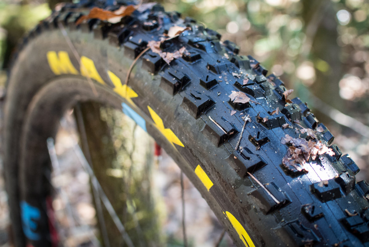 The Maxxis Rekon is now available with a layer of protection that goes from bead-to-bead; Maxxis says these tires are good for large, aggressive riders, or chunky terrain