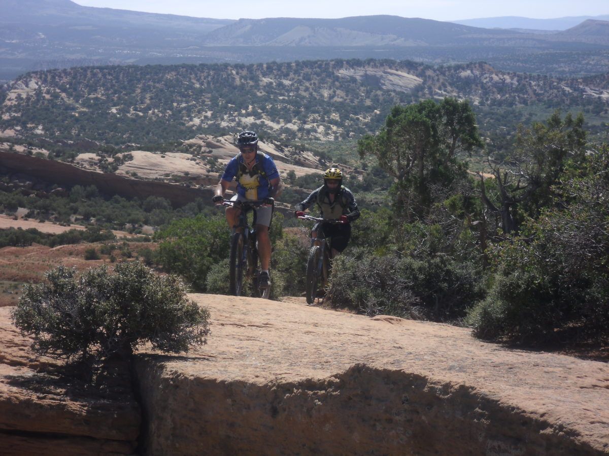 Hitting the trail with a new riding buddy can also create a new, more interesting cycling experience.