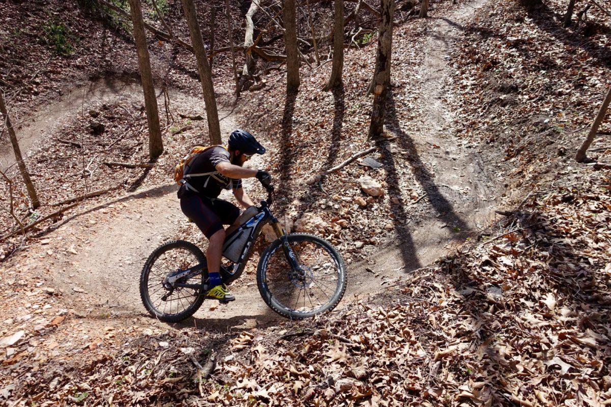 Uphill flow. Rider: Greg Heil. Photo: Nathan W.