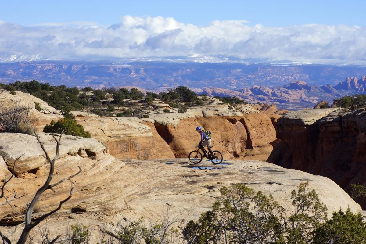 A Moab trip is an excellent way to jazz up your riding, but if that isn't feasible, you can still find worthy destinations closer to home. Photo: Jim Klaas