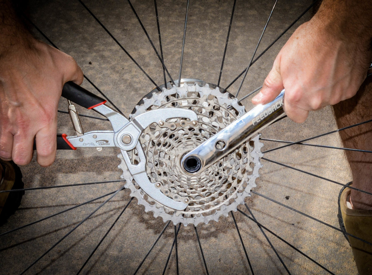 There is no easier way to remove a cassette than with these two tools. You will be amazed how fast and easy they come off for cleaning or to replace them.