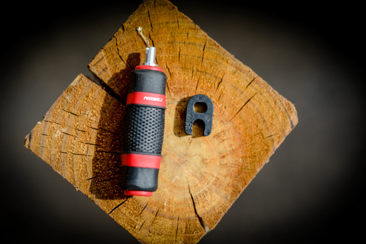 This dual sided tire core tool is the bees knees compared to the freebie version that I always seem to lose
