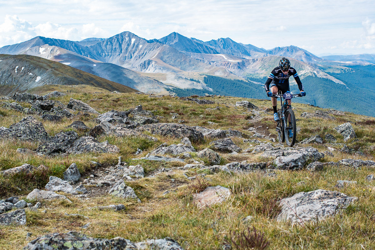Racing the Breck Epic. Photo: Eddie Clark/Breck Epic