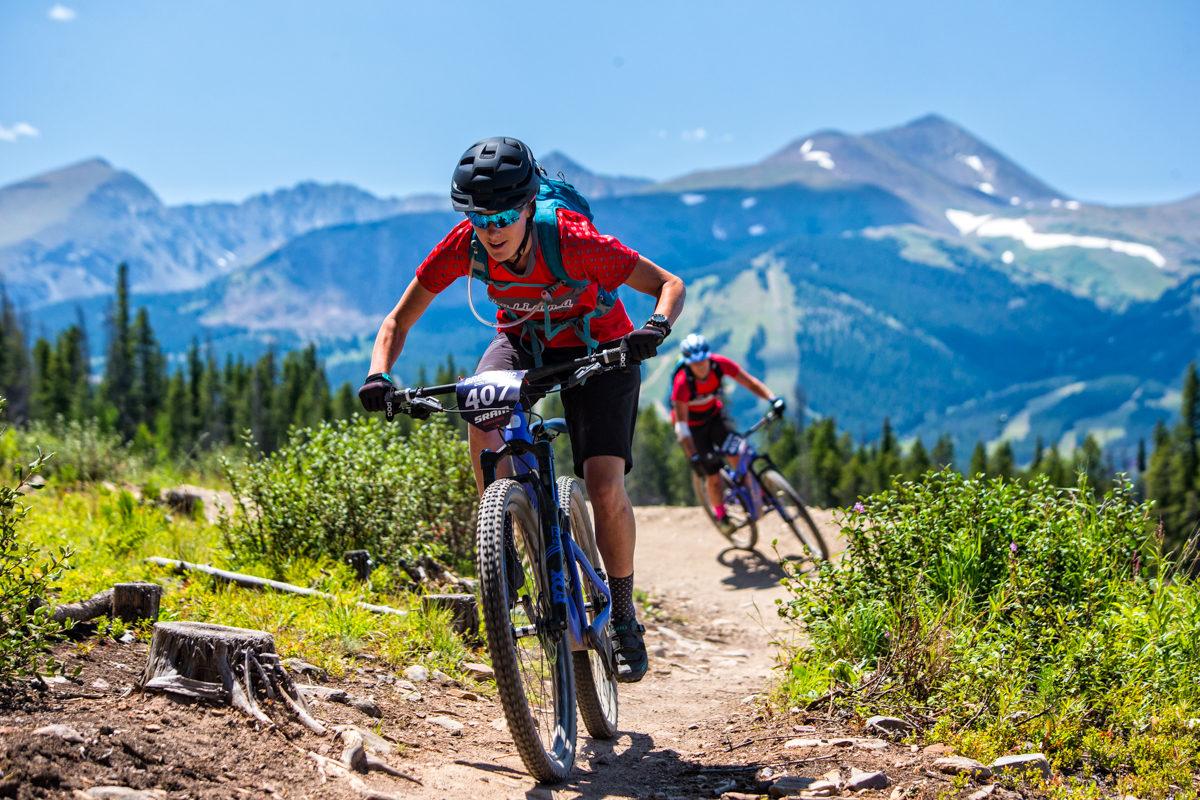 Racing the Breck Epic. Photo: Liam Doran/Breck Epic