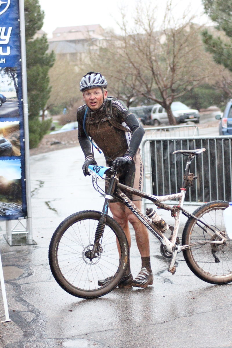 The author after finishing the 2011 True Grit Epic. photo: Crawling Spider Photography