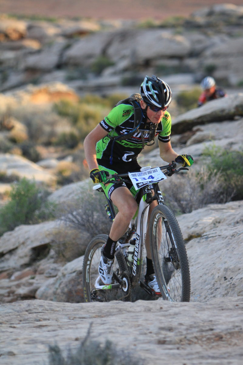 The author racing the True Grit Epic in 2013. photo: Crawling Spider Photography