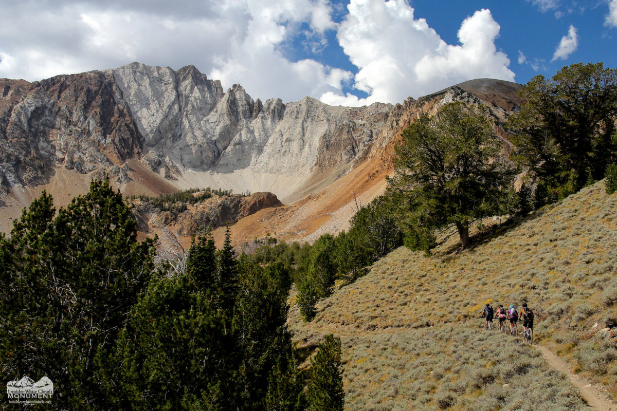 If new legislation finds its way to law, Mountain Bikers may once again be able to enjoy amazing vistas like this one in the Idaho's Boulder White Clouds (photo: boulderwhiteclouds.org)