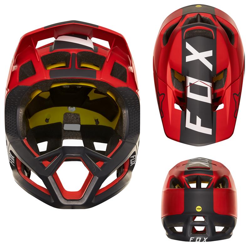 New Fox Proframe Full Face Helmet Has 24 Vents Singletracks