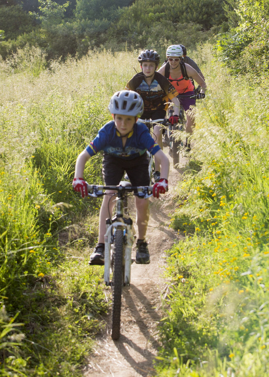 When trails exist, they influence a large part of a community for people of all ages. Photo: IMBA