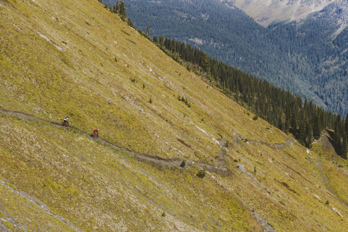 Riding at Retallack Lodge, BC. Photo: SRAM