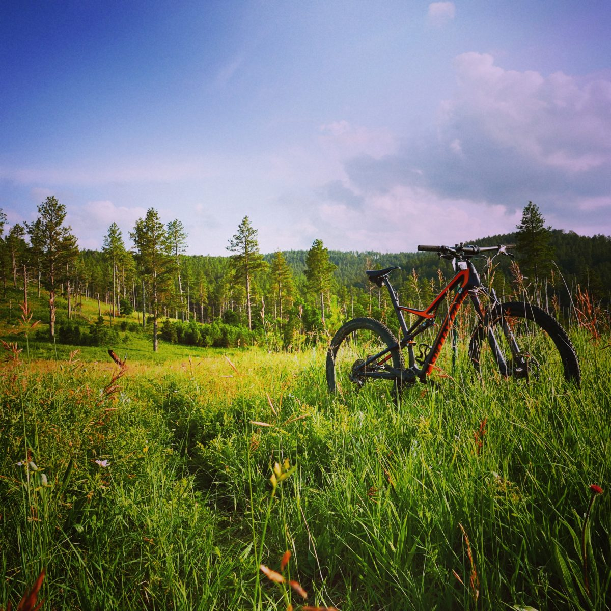 In the Black Hills, the mountain bike trails are great and are helping bringing a new kind of growth to the communities there.