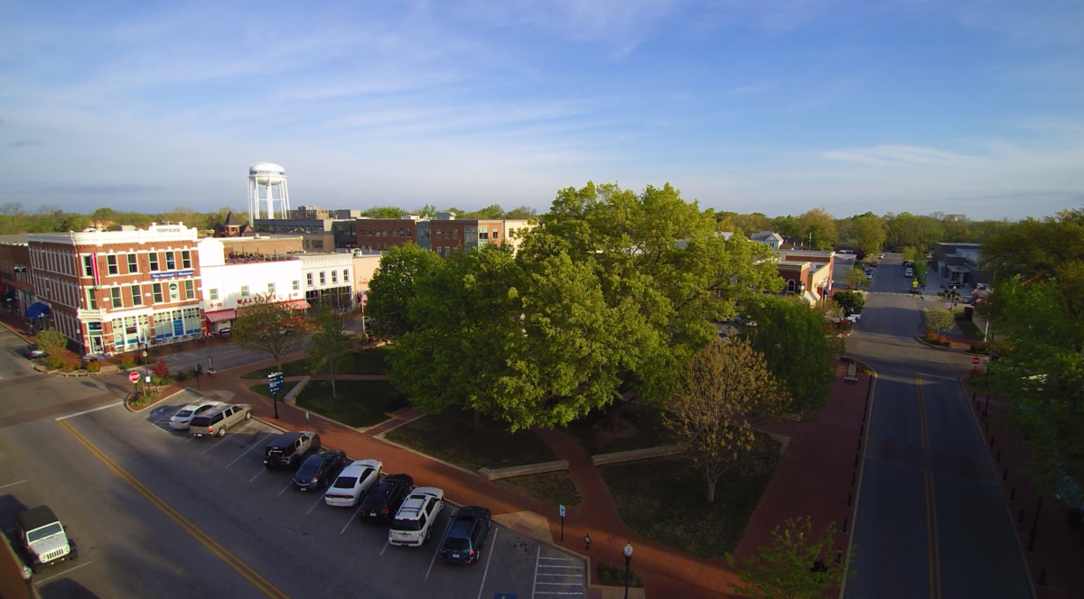 The Bentonville square is tied to paved trails, singletrack, and now, the soul of the community.