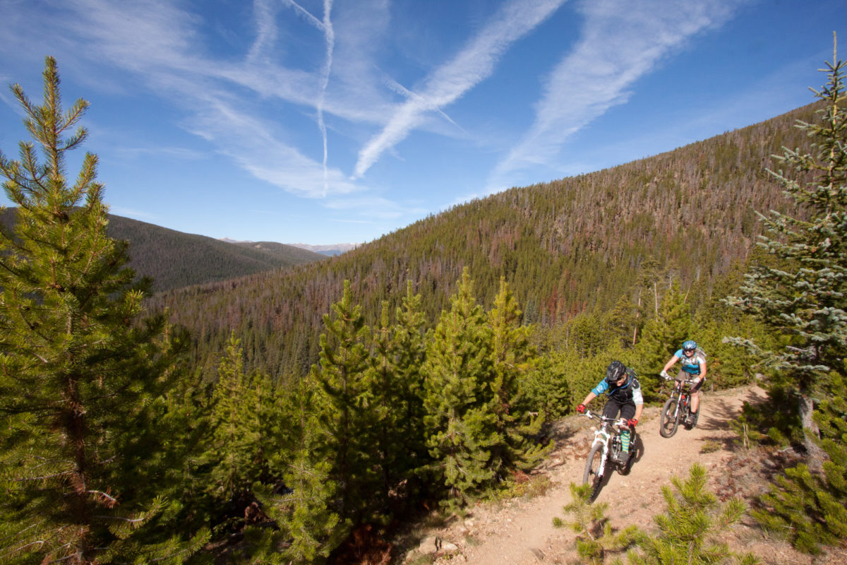 Folks out on trails equals folks in town later spending their money on food, drinks, and gear. Photo: IMBA