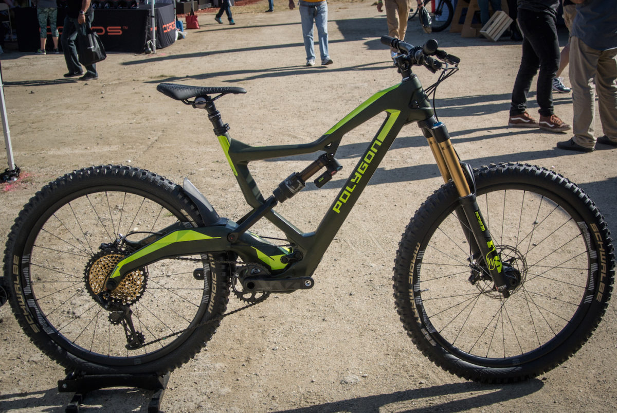 Polygon Square One Ex A 180mm Travel Trail Bike Singletracks