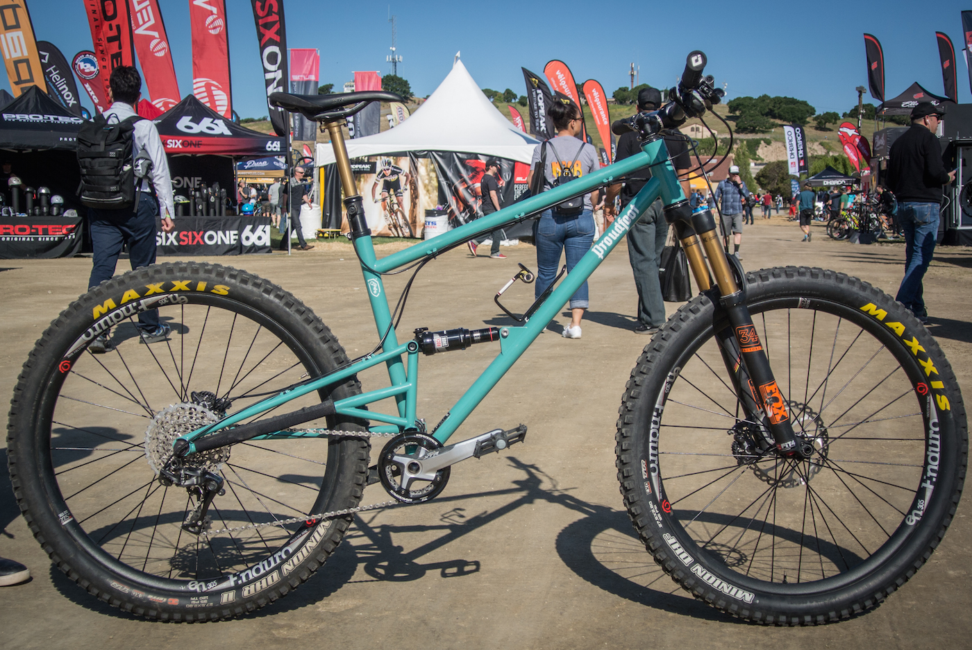 Proudfoot Cycles Displays Steel Full Suspension