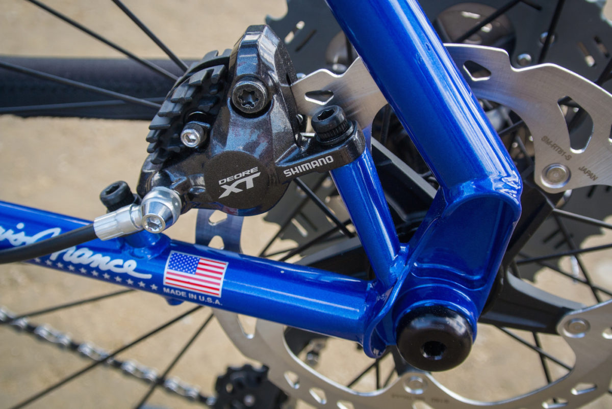New dropout and brake mount