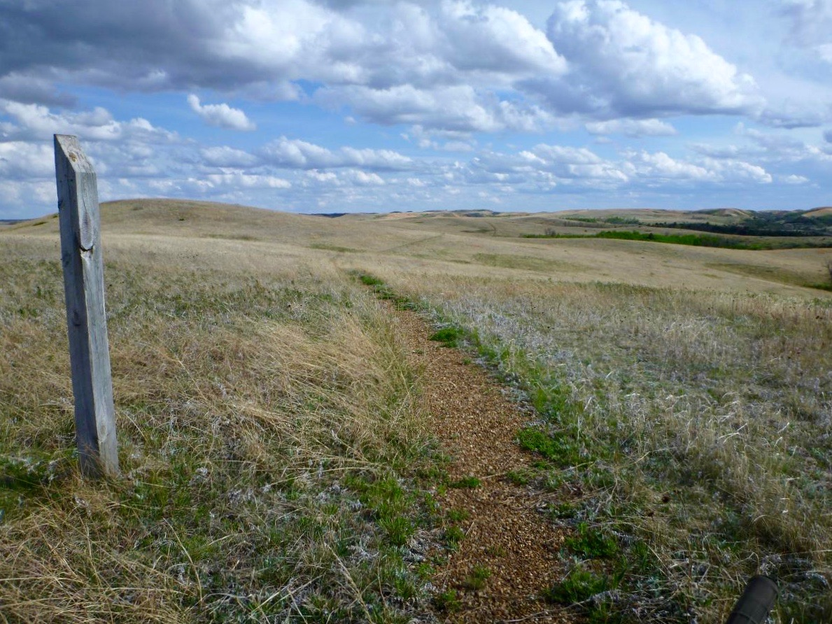Aaaahhh, the endless prairie of North Dakota. How could anyone possibly get hurt while biking here? (photo: stumpyfsr)