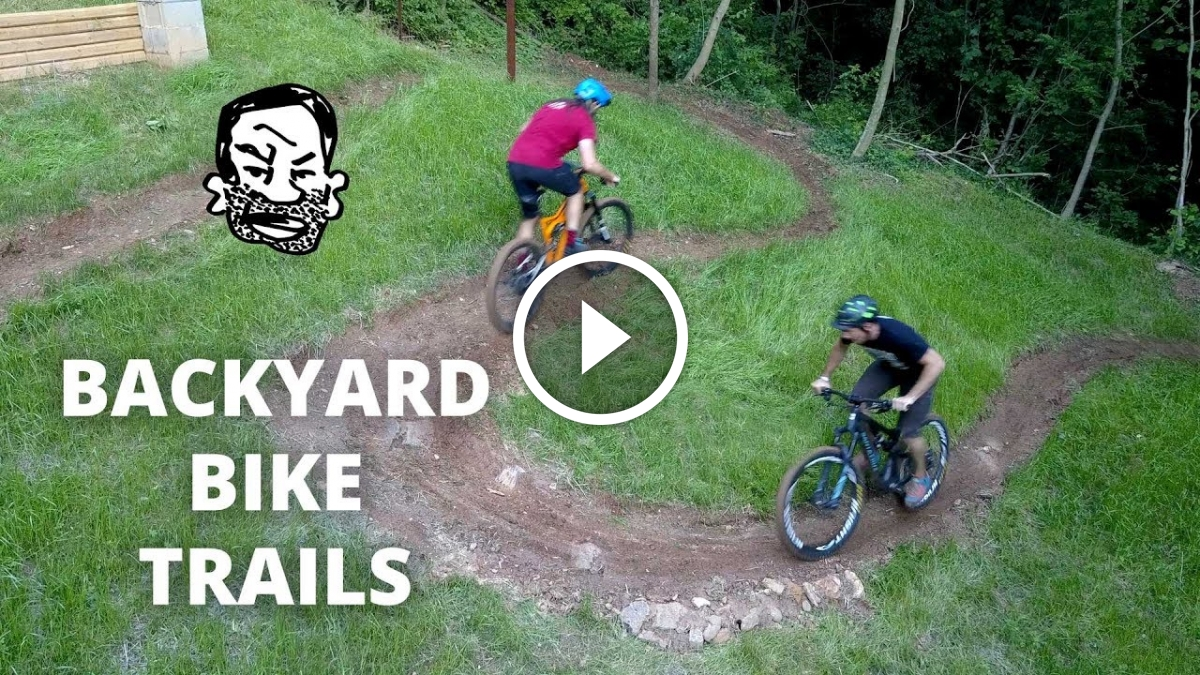 Best Mountain Bike Pedals >> Watch: Seth just built a trail in his backyard, and it ...