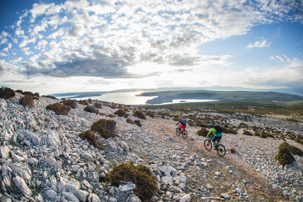 Experiencing the Greens and Blues of Croatia on a Mountain Bike