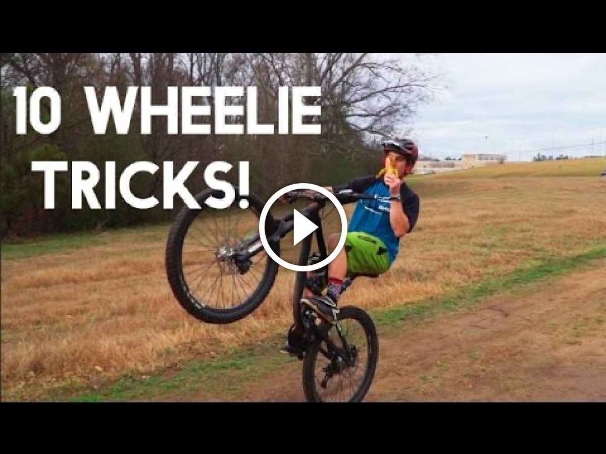 images How to Wheelie on a Mountain Bike